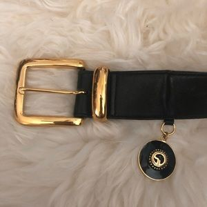 St. John Leather Belt S